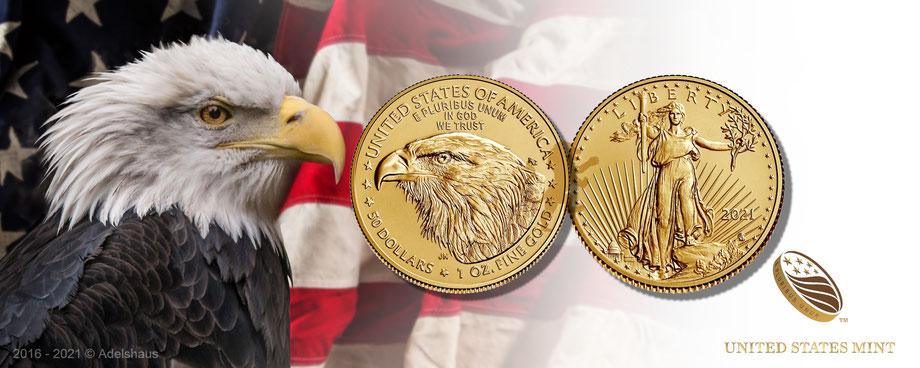 american eagle gold 1 unze usa goldmünze goldcoins new anlagegold