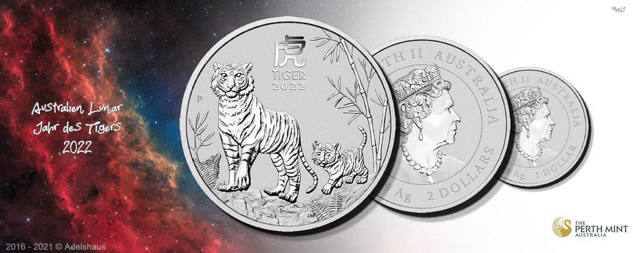 adelshaus tiger 2022 silber jahr des tigers unze silbermünzen silvercoins kaufen