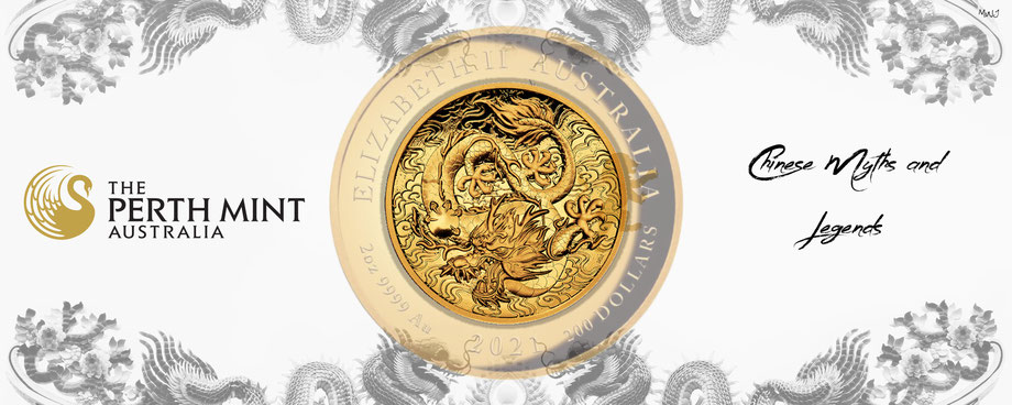 australien, dragon & phoenix gold serie, drache 2021, high relief, goldmünze, perth mint, adelshaus, adels-haus, gold kaufen