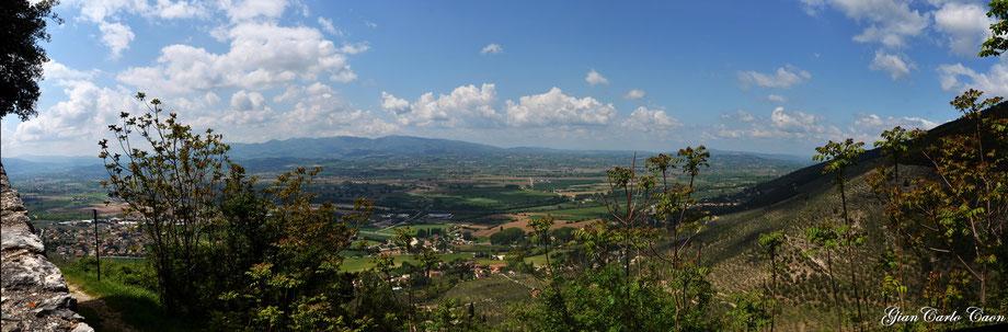 vista sulla Valle dal Borgo
