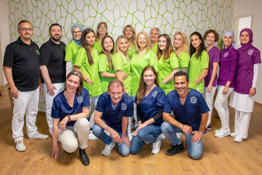 Praxis Team Dr. Kadir Aksogan. Wir helfen Ihnen gerne weiter.