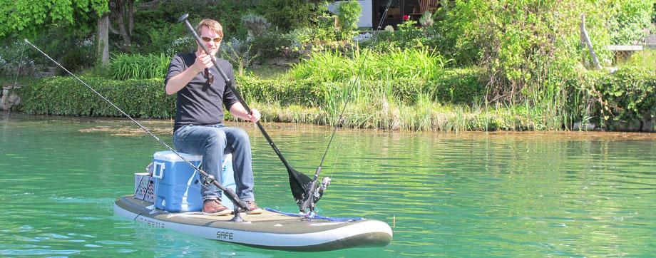 SUP fischen Carinthia Österreich  kärnten