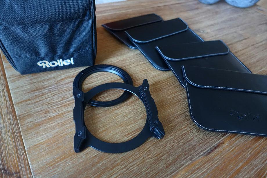 Steckfiltersystem von Rollei Filter