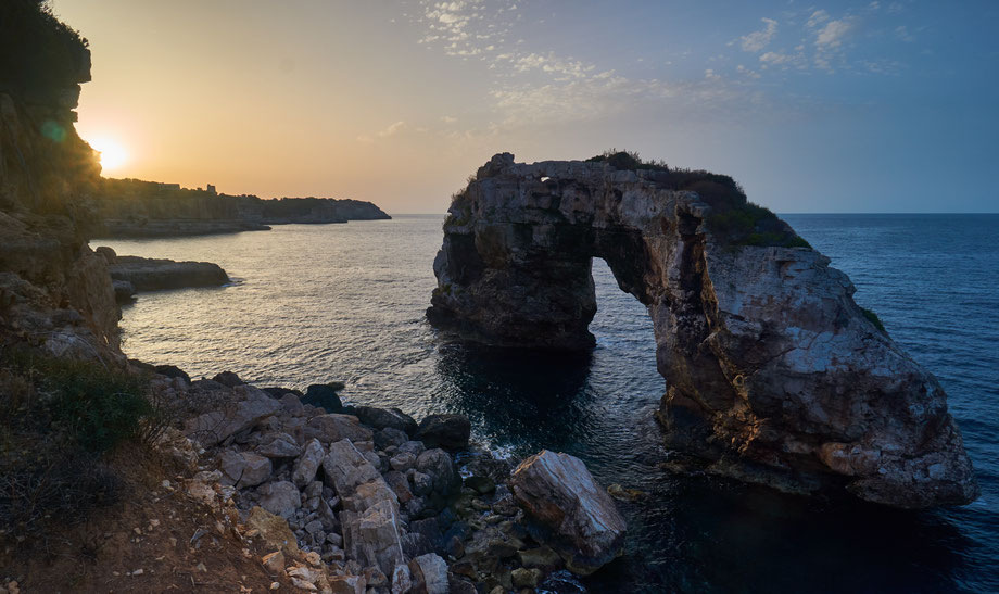 Fotospot Mallorca Es Pontas beim Sonnenaufgang fotografiert