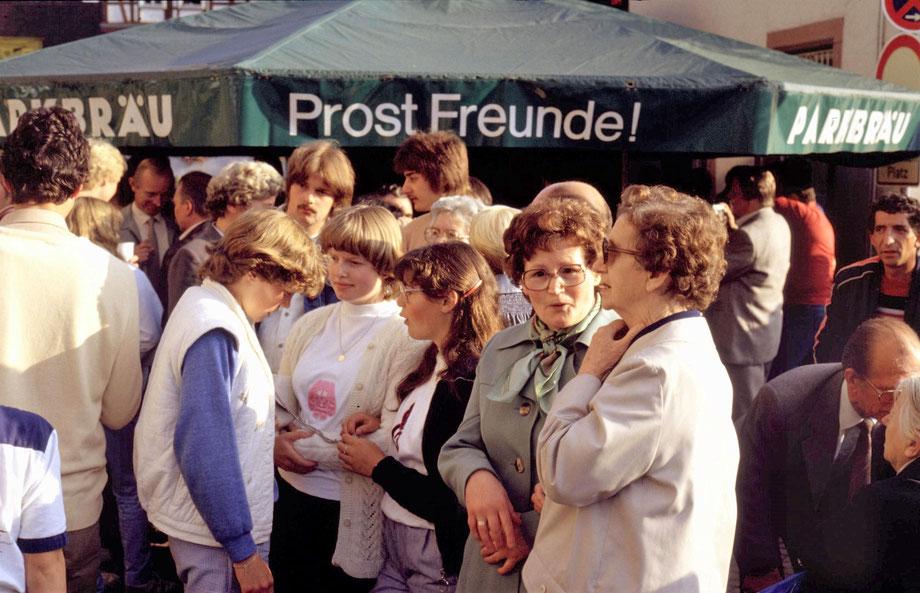 Ersten Otterberger Altstadtfest 1980