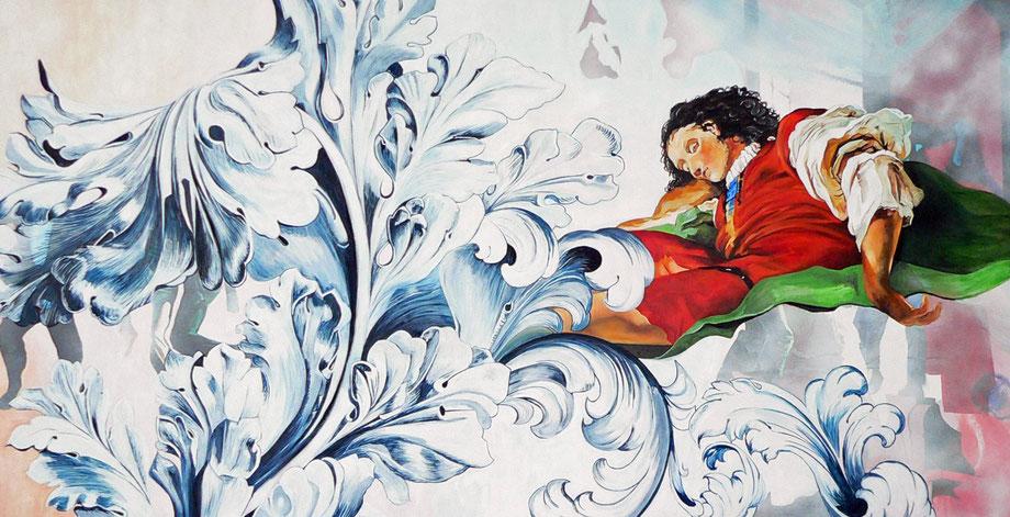 JACOB     huile/toile, 195 x 97