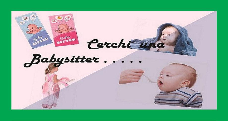 cerchi una babysitter ? servizi alla persona via Lesegno 77/B 10136 Torino