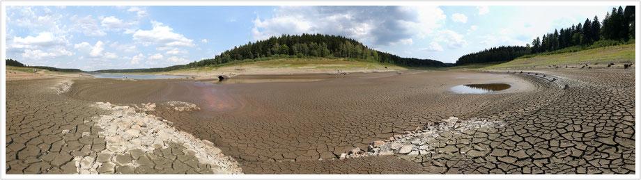Hier fehlen 18 Millionen Kubikmeter Wasser