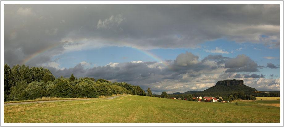 Ein Hauch von Regenbogen