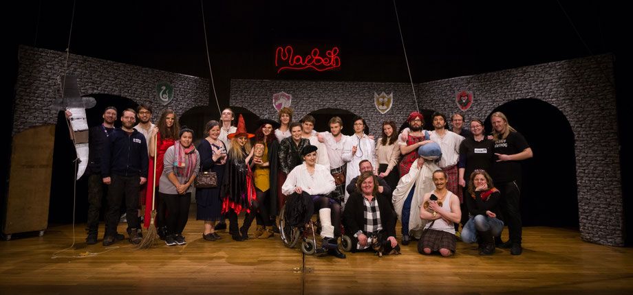 "Cast and crew of ""Macbeth"", 2018"