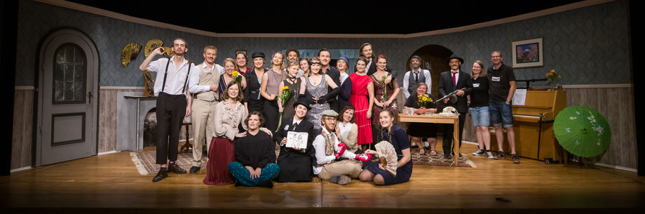 "Cast and Crew of ""Ain't She Sweet"" by Craig Sodaro, 2019"