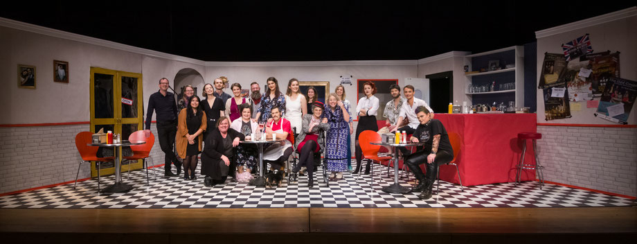 "Cast and crew of ""Daddy's Dirl"" by Gary Ray Stapp, 2019"