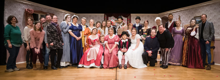 "Cast and Crew of ""Sense And Sensibility"" 2020"