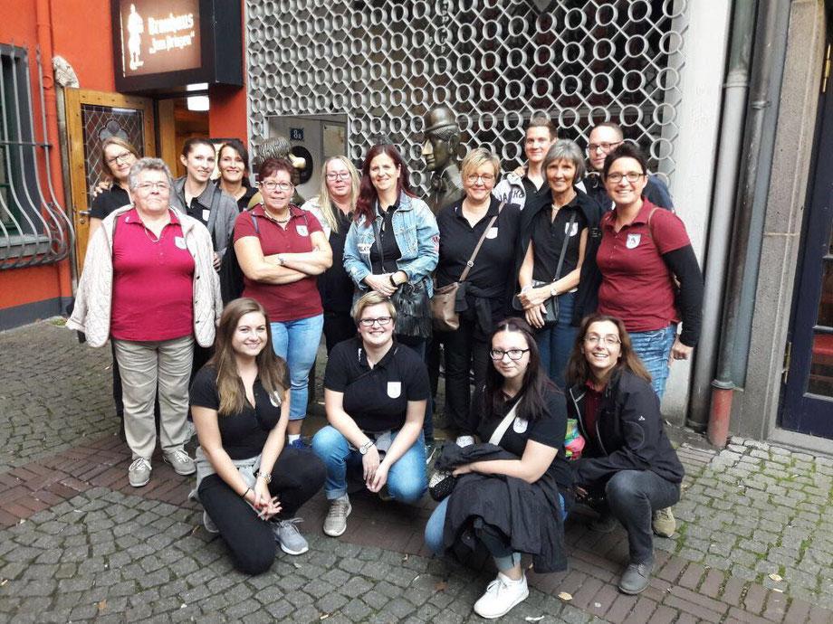 Reisegruppe Stadtführung Köln, Tünnes un Schäl in Köln Altstadt