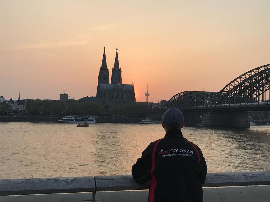 Kölner Dom, Hohenzollernbrücke, Rhein, Colonius, Kölner Altstadt