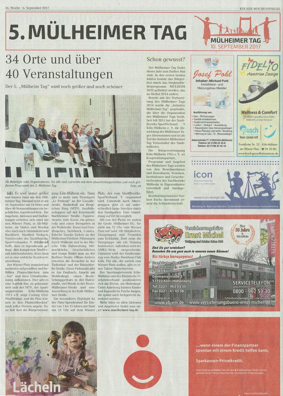 Wochenspiegel 6.9.2017