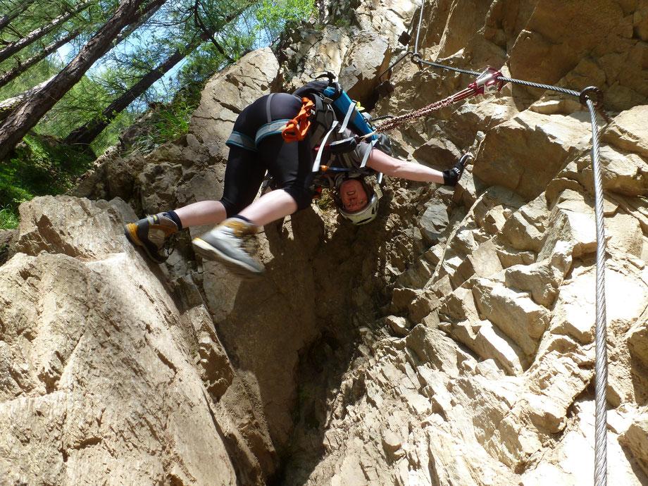Klettersteig Lehner Wasserfall : Jubiläumsklettersteig lehner wasserfall 100seconds.de bergsport