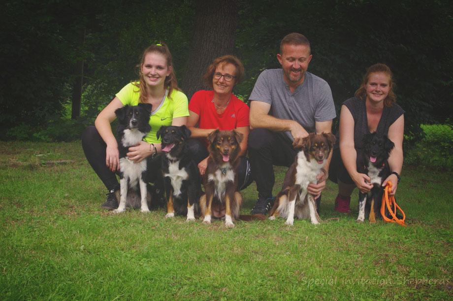 Mitch, Echo, Hetty, Iffi, Penny