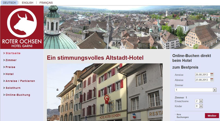 hotel solothurn