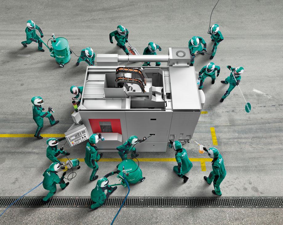 CGI | MOTOREX | Machine tool Keyvisual
