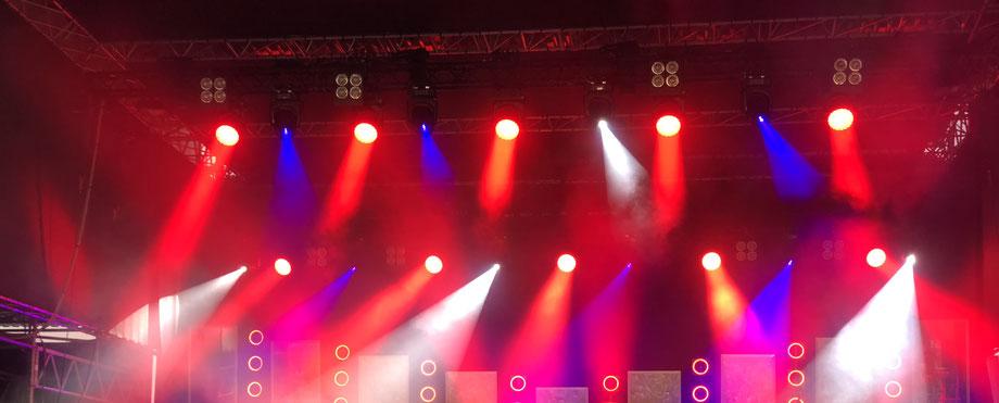 Illuminated Stage Photo