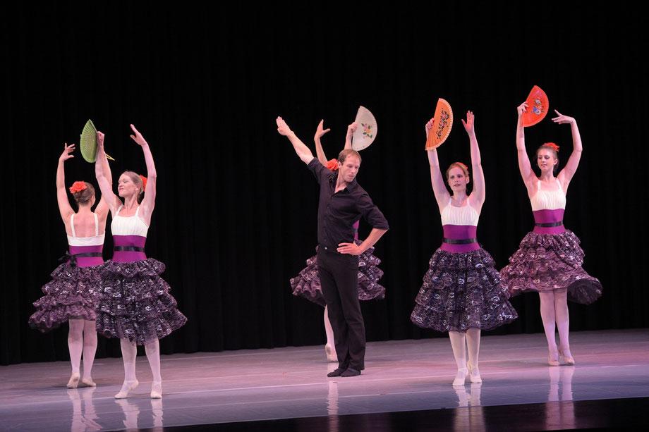 Bild von Aufführung der Ballett - Tanzschule Allegro im Jahr 2014