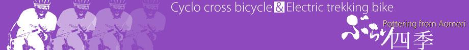 こちらはシクロクロスバイクと電動アシスト・クロスバイクの専用HPです
