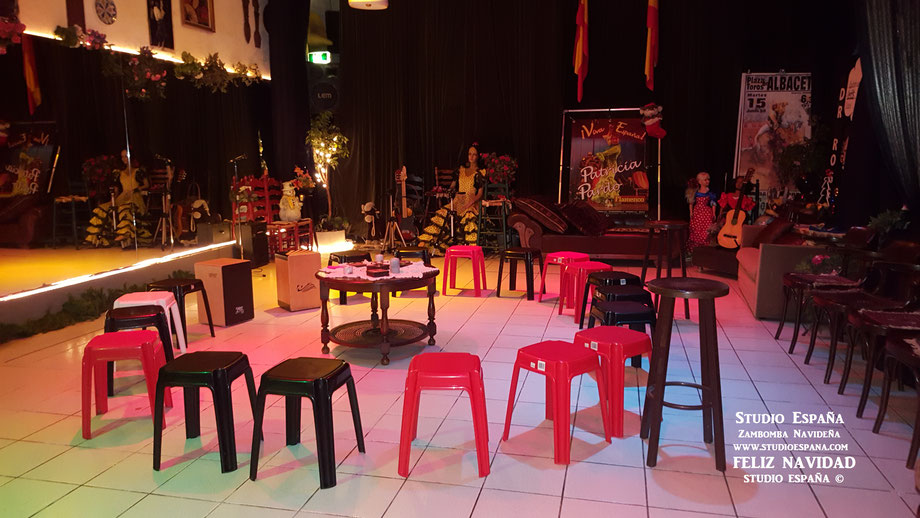 Studio España Flamenco , Patricia Pardo wenst iedereen een Gelukkig Kerstfeest! ¡Feliz Navidad! Vanuit Sittard Geleen Limburg.