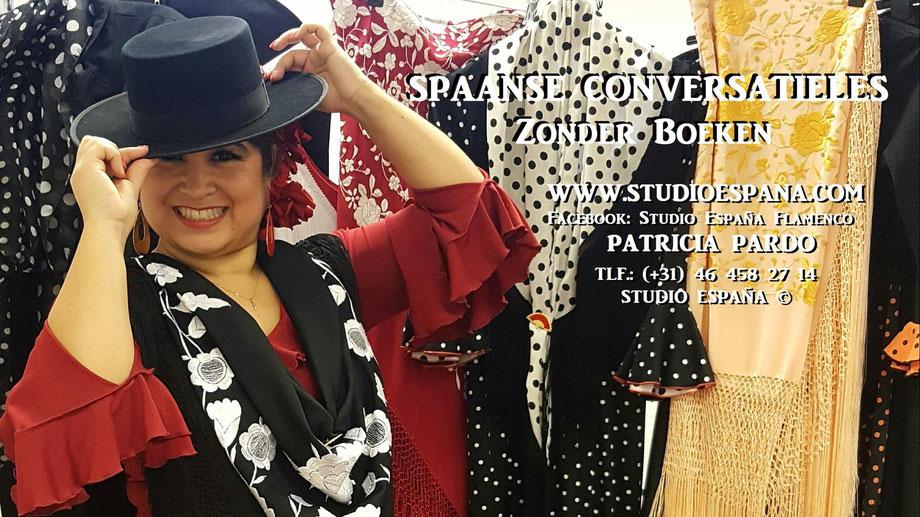 Spaanse Conversatie les, Spaanse les, Patricia Pardo, Studio España, Casa Pardo, Sittard, Geleen, Sittard-Geleen, hablar español, Flamenco, cultura española.