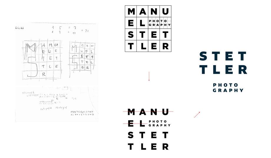 Branding Stettler Photography: Entwicklung Logo Schriftzeichen, Konzeption und Grafik für Visitenkarte, Briefpapier A4, Kuvert C5 und Faltprospekte by Lockedesign, Burgdorf