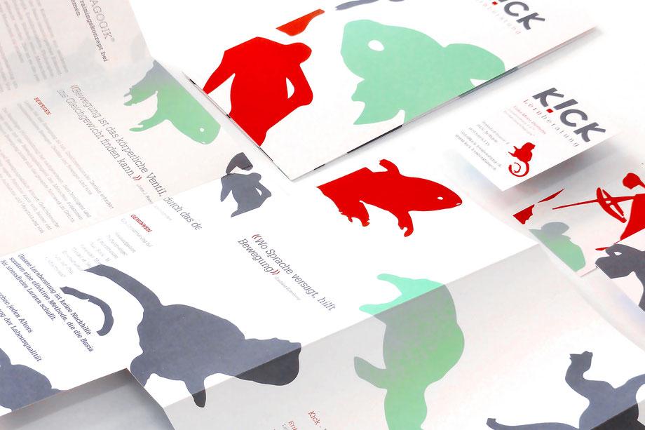 Entwicklung Logo by Lockedesign, Burgdorf: Geschäftsauftritt von hairlich-coiffuresalon. Gestaltung von Post- und Visitenkarte mit Haar-Illustartionen auf der Rückseite