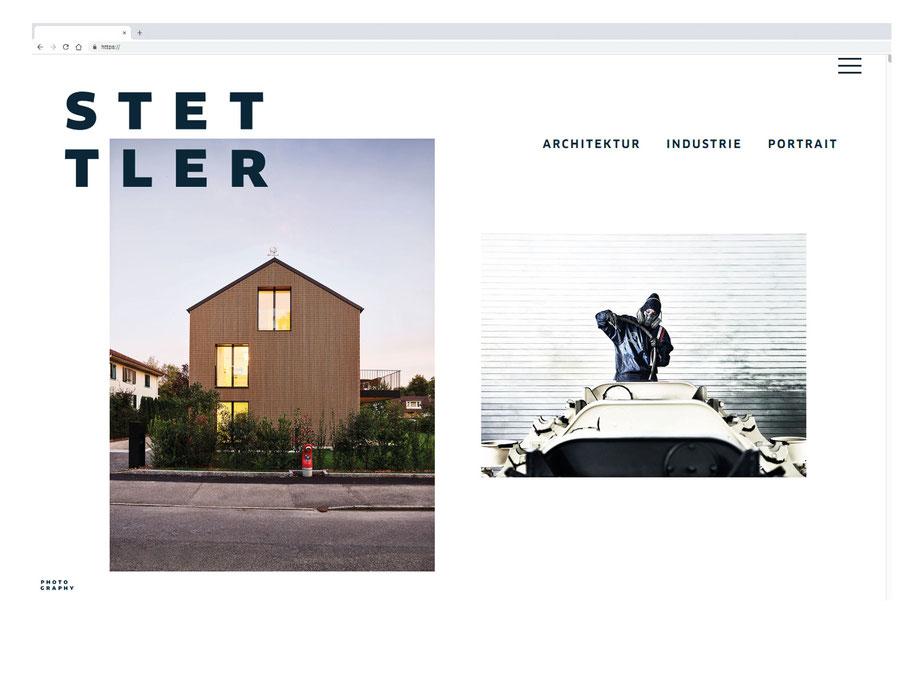 Branding Stettler Photography: Konzept, Grafik, Layout Visitenkarten, Kuvert C5 und Geschäftspapier A4 by Lockedesign, Burgdorf