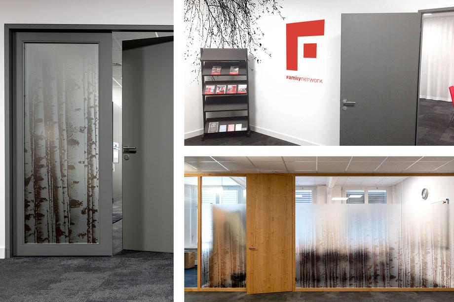 Entwicklung Konzept für die Innen-Beschriftung in den Büroräumen by Lockedesign, Burgdorf