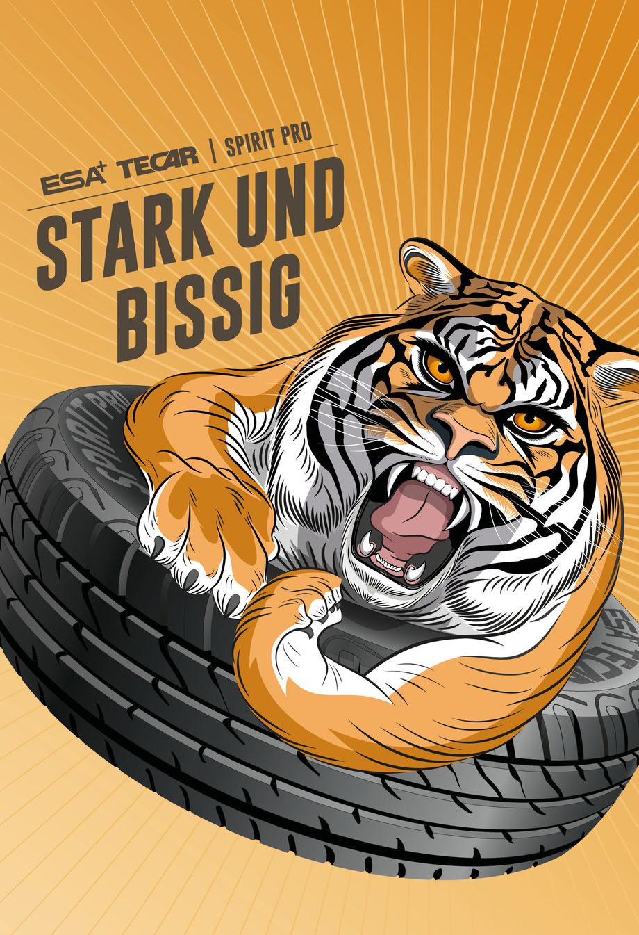 Insieme Region Bern: Postkarten Design | Illustration / Zeichnung koloriert hübsche Frau: Graphic Design by Lockedesign, Burgdorf bei Bern