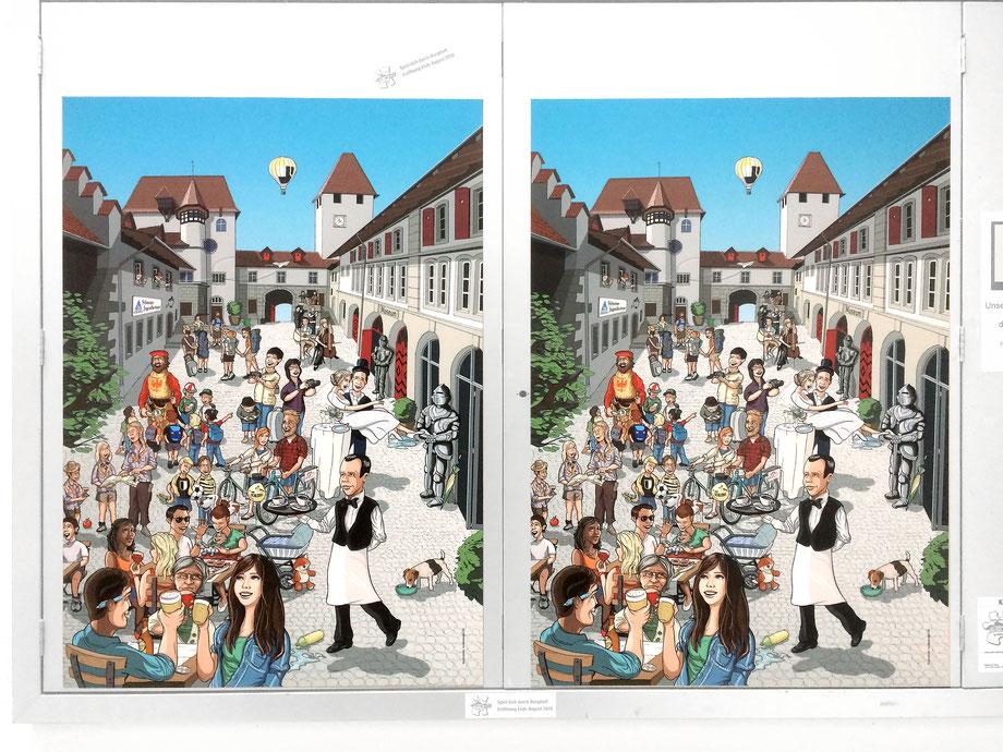 Bild vom Schloss Burgdorf: Grafik, Layout und Gestaltung fertige Spieltafeln by Lockedesign Burgdorf: Album-Cover