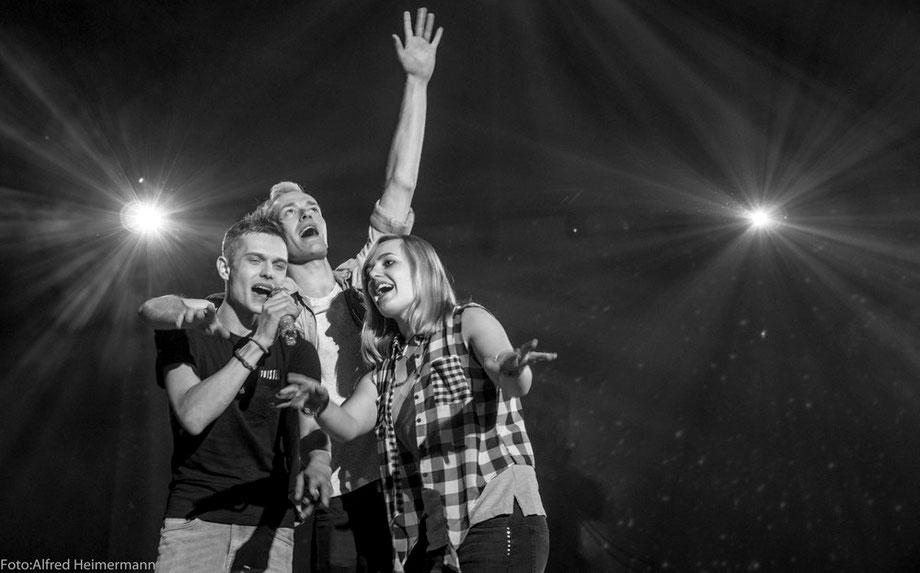 Vico Mulsow und Freunde rocken Andrea Berg Seelenbeben Tour 2017 in HH