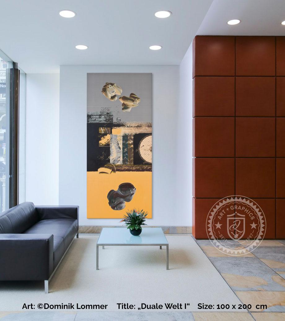 acryl-bilder-gemaelde-hochformat-modern-style-abstrakte-kunst-bilder-orange-schwarz-duale-welt