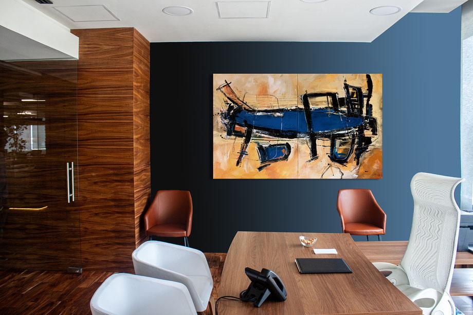 acryl-bilder-gemaelde-querformat-modern-style-anwaltskanzlei-abstrakte-kunst-bilder-blaue-lagune