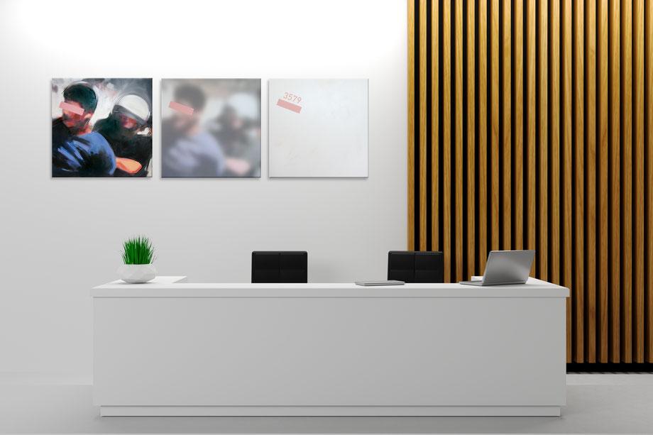acryl-bilder-gemaelde-hochformat-modern-style-abstrakte-kunst-bilder-grau-schwarz-weiß-intifada-I-II-III