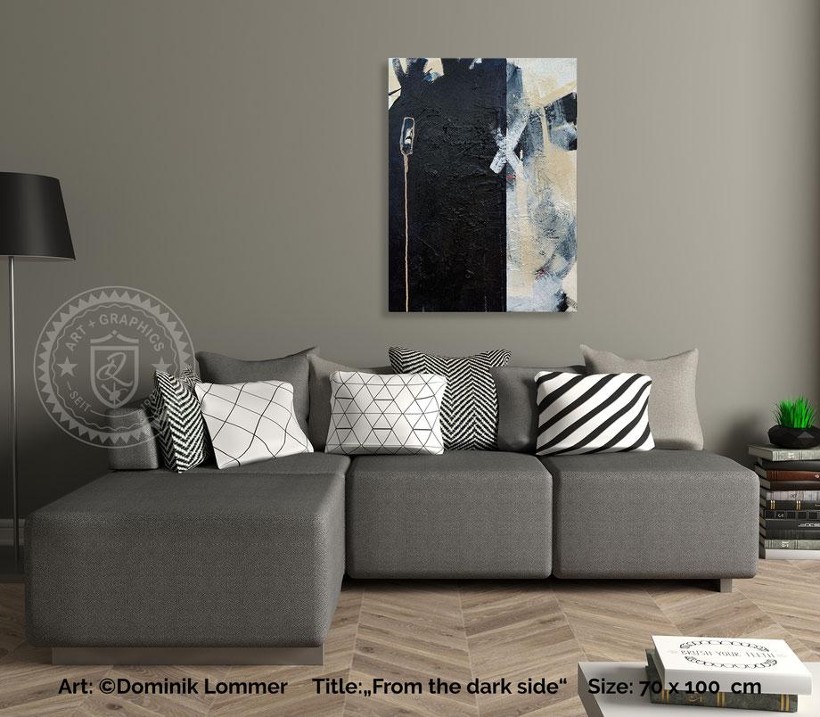 acryl-bilder-gemaelde-hochformat-modern-style-abstrakte-kunst-bilder-grau-schwarz-weiß-from-the-dark-side