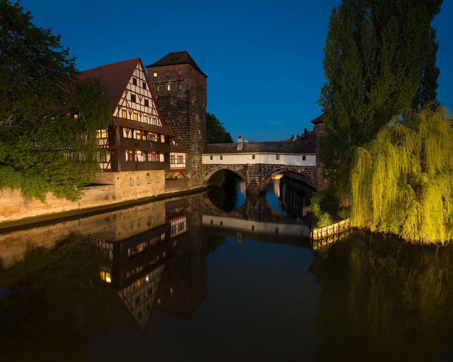 Nürnberg bei Nacht (Copyright Martin Schmidt)