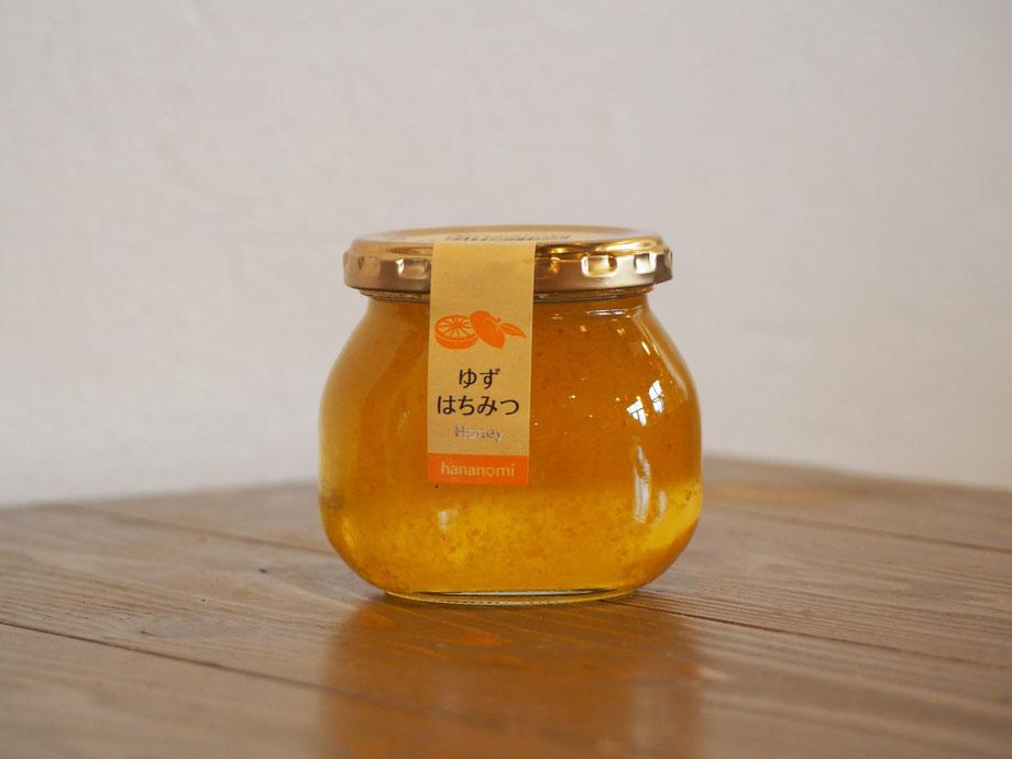 精製蜂蜜,ゆず果肉入りはちみつ,はちみつオンライン通販Bee Honeyビーハニー