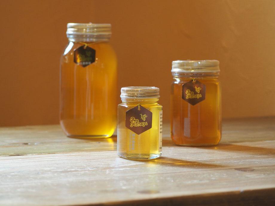 野山の花々の蜜が絶妙にブレンドされたやわらかい薫りとやさしい甘みの蜂蜜,【福岡産純粋蜂蜜】国光養蜂場ヤマハゼ/クロガネモチはちみつ,Bee Honey,はちみつオンライン通販ビーハニー