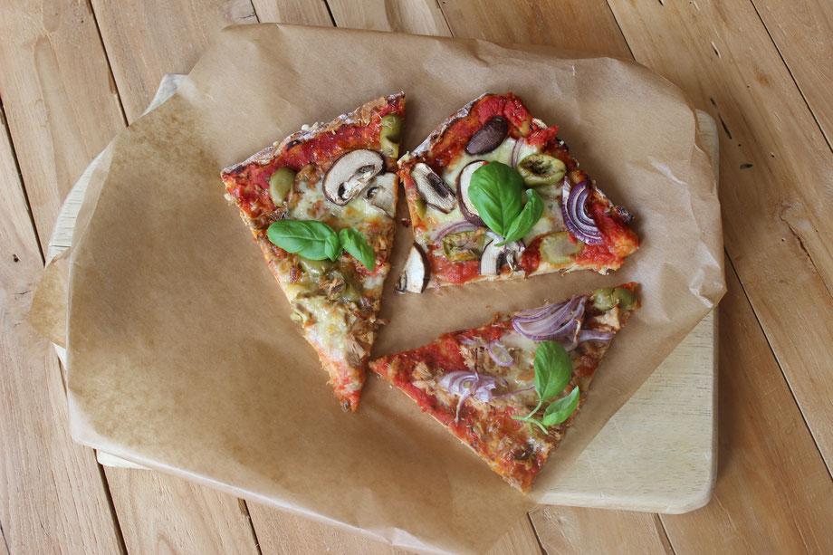 glutenfreie Pizza low carb