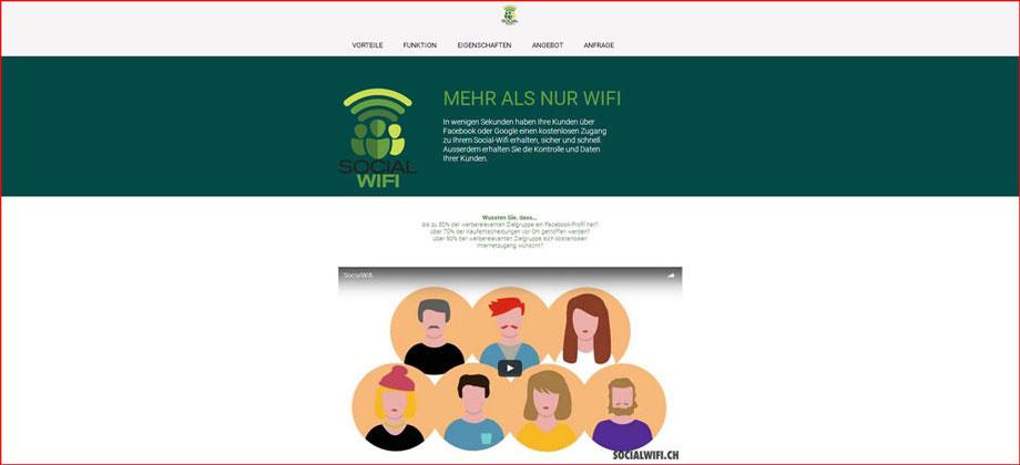 Social Wifi der CoUNDCo, Zürich - Referenz Homepages Webdesign - webics thomas drechsel isc Oberfranken | Bayreuth | Kulmbach | Bamberg