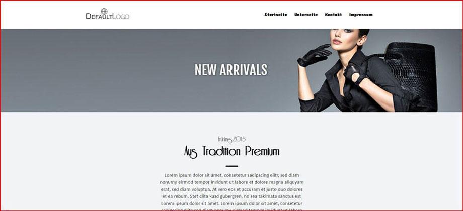 New Arrivals - Referenz Homepages Webdesign - webics thomas drechsel isc Oberfranken | Bayreuth | Kulmbach | Bamberg