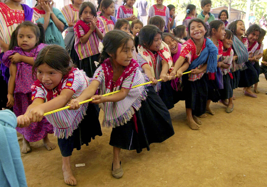 Mädchen in Acteal/Chiapas  -  Eduardo Verdugo