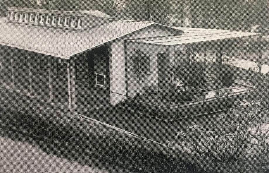 Kurz nach der Einweihung 1954