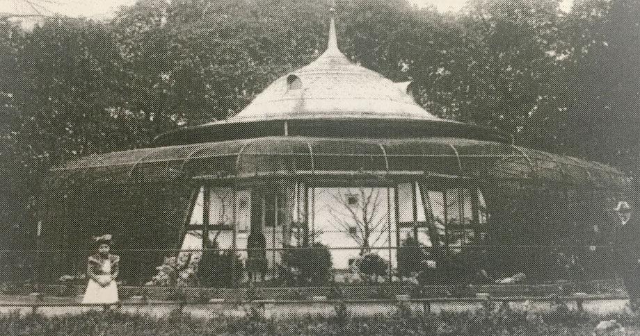 Die erste Solothurner Voliere bei der Kantonalbank 1901