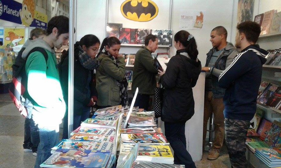 At the International Book Fair of Montevideo 2016